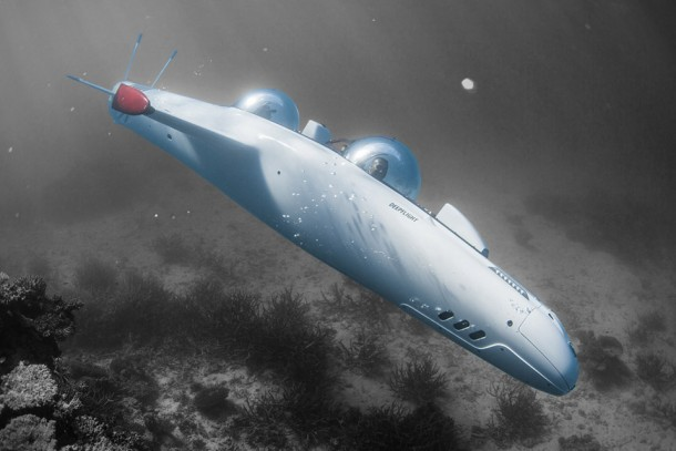 Deepflight Super Falcon Mark II – Personal Submarine 2