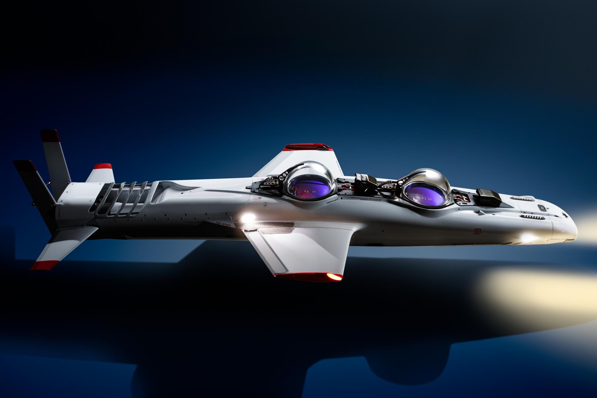 Deepflight Super Falcon Mark II – Personal Submarine