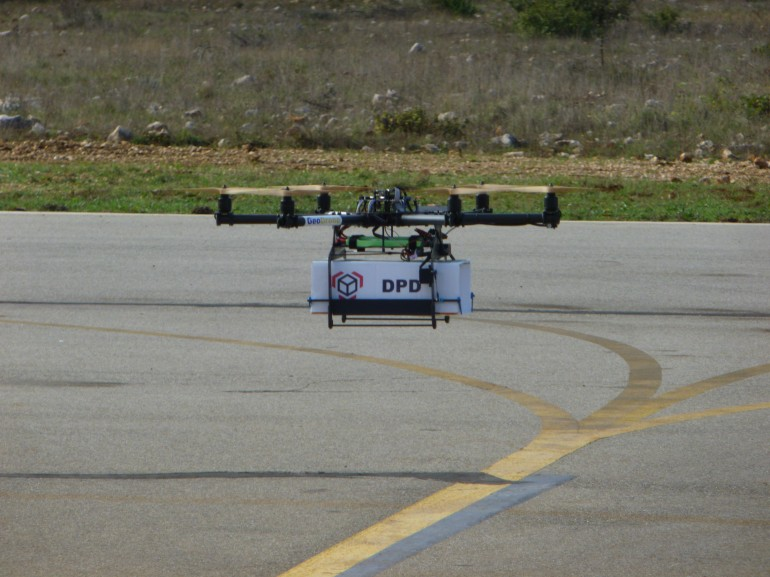 Drones for Delivery – Successful Tests Carried out in France2