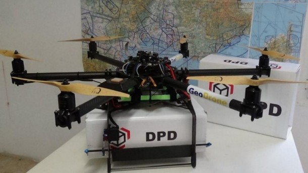 Drones for Delivery – Successful Tests Carried out in France