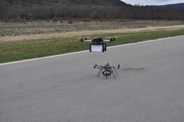 Drones for Delivery – Successful Tests Carried out in France3