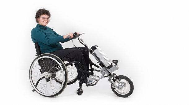 Firefly by Rio Mobility – Transforming Wheelchair into Powered Tricycle2