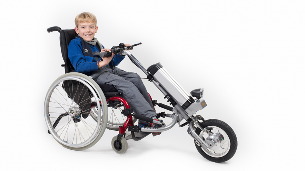 Firefly by Rio Mobility – Transforming Wheelchair into Powered Tricycle