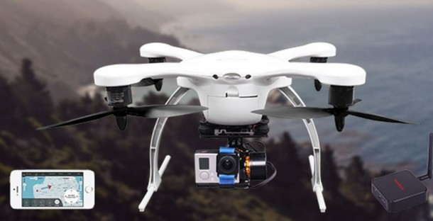 Ghost Drone – Controlled via Smartphone
