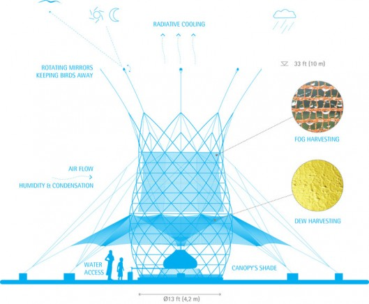 Harnessing Potable Water from Air - Warka Water2