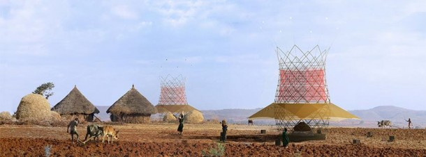 Harnessing Potable Water from Air - Warka Water3