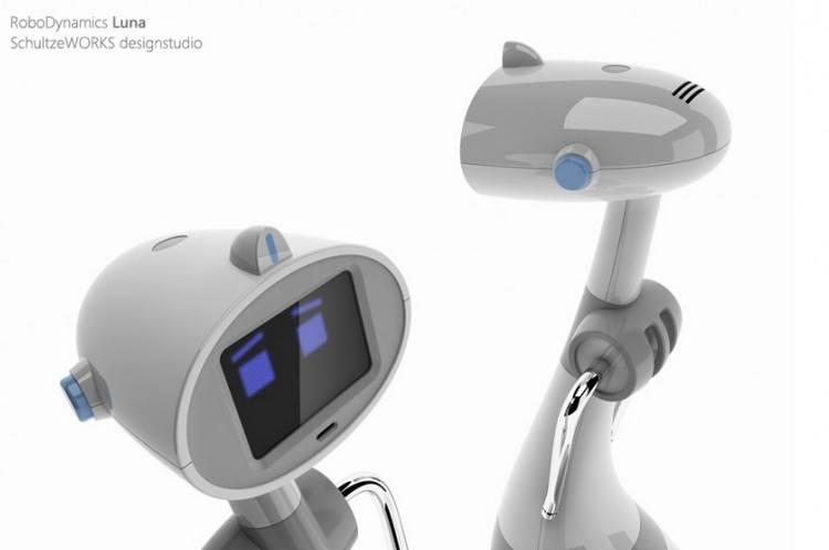 Luna Personal Robot Nearing Manufacturing6