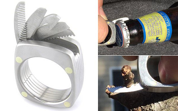 Man Ring Costs $385 and Comes with a Number of Tools
