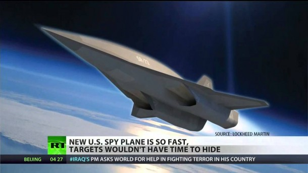 NASA Funds Lockheed for SR-72 Hypersonic Spy drone 4