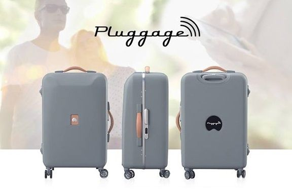 Pluggage – The Smart Luggage