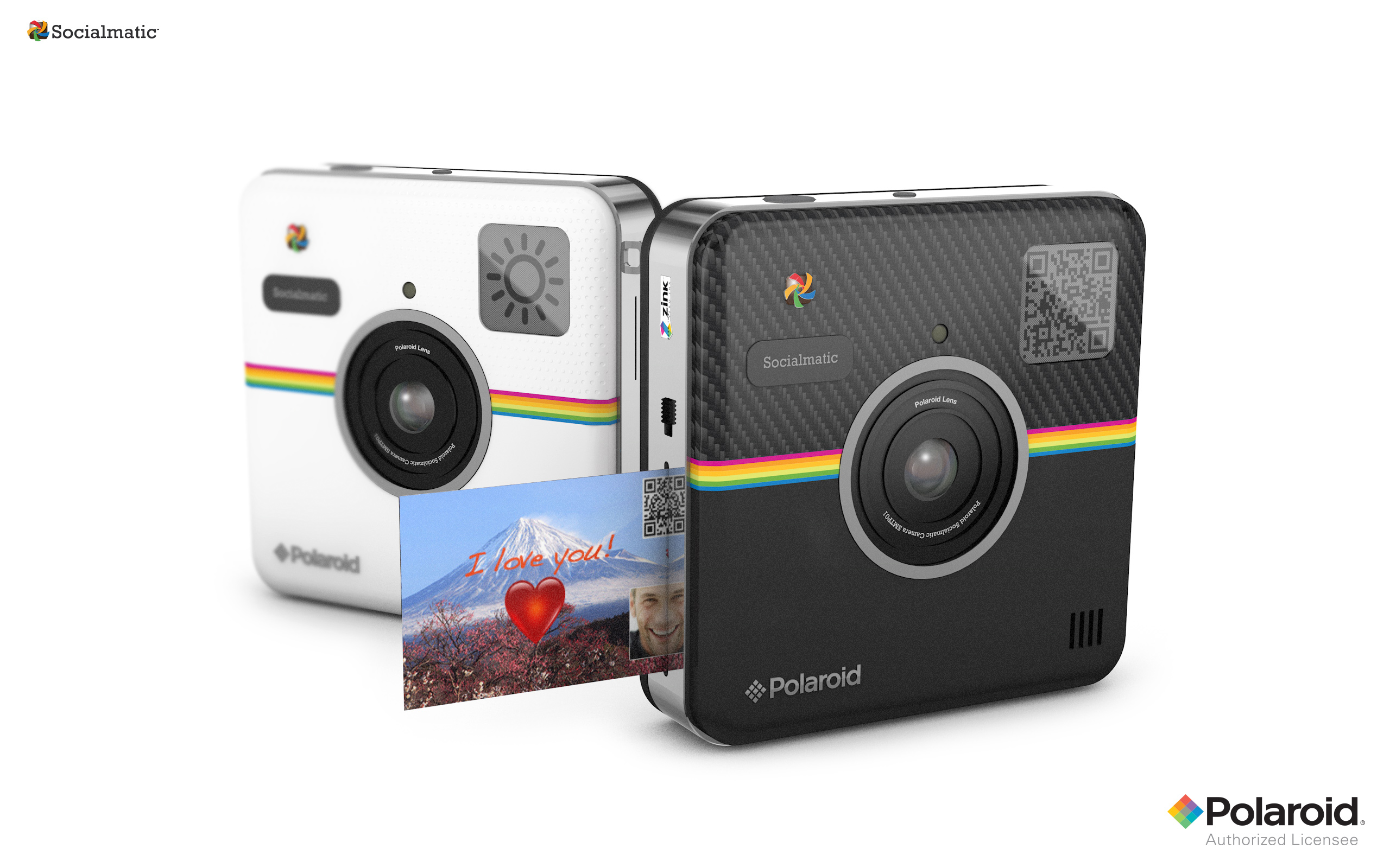 Polaroid Socialmatic Camera Prints Your Photos As Soon As You Take Them