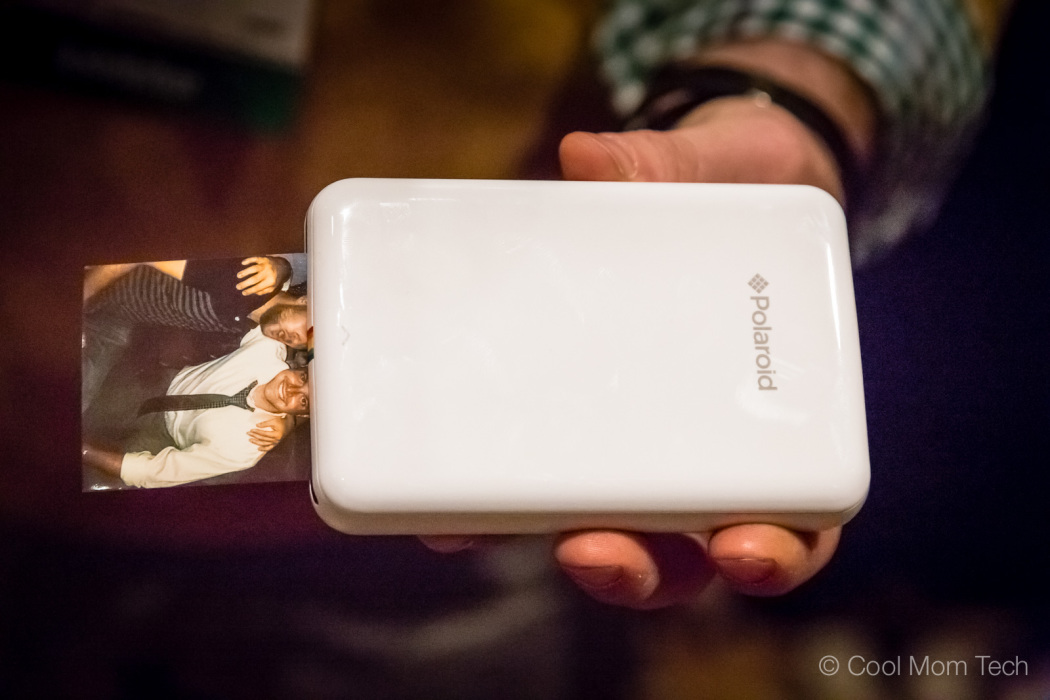 Polaroid Zip Printer Is A Mobile Printer That Can Print Small Sized