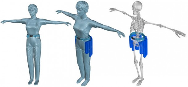 Protection for Old – Airbag Prevents Damage to Hip Bone