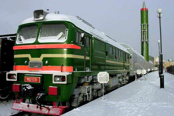 Russia is Placing Nukes on Trains