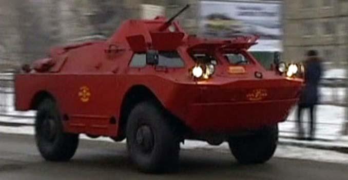Safest Taxi in Russia - BRDM-2 Combat Command Reconnaissance Vehicle5