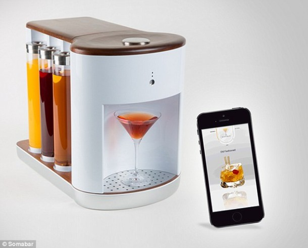 Somabar costs $500 and Can Create 300 Different Cocktails2