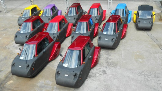 Spira4u - Electric and Gas Powered Pilot Production for Three Wheeler