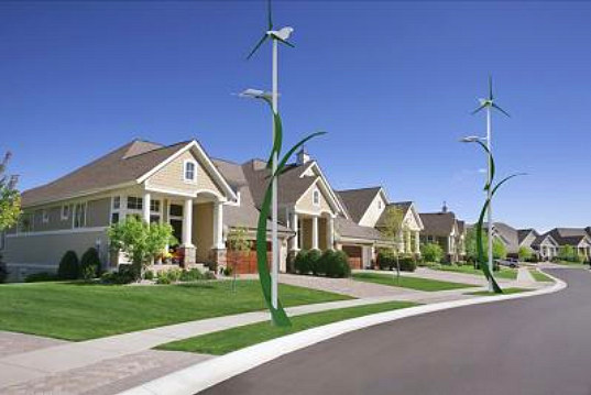 Streetlight that Runs on Wind and Solar Energy3