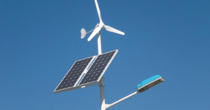 Streetlight that Runs on Wind and Solar Energy4