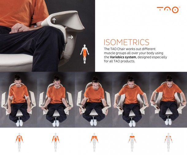 TAO Chair – Exercise while You Watch TV 2