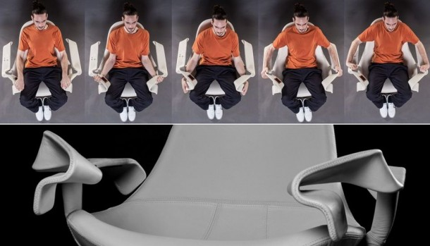 TAO Chair – Exercise while You Watch TV 6