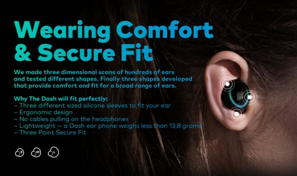 The Dash – Wireless Earphones and Fitness Tracker3