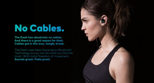 The Dash – Wireless Earphones and Fitness Tracker6