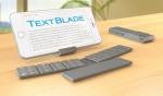 The TextBlade – Eight Key QWERTY Keyboard