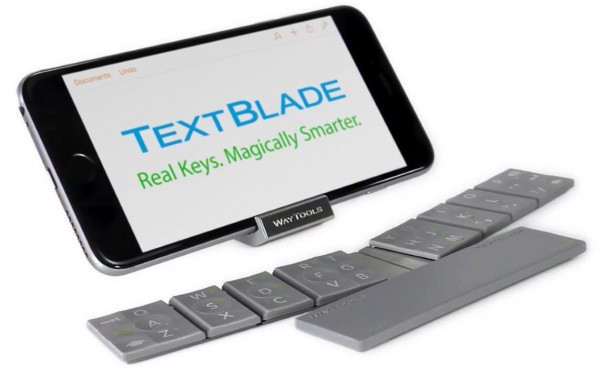 The TextBlade – Eight Key QWERTY Keyboard 4