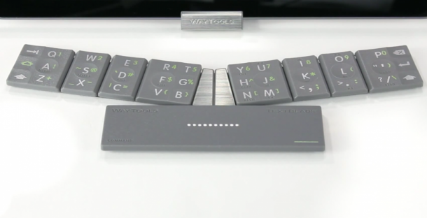 The TextBlade – Eight Key QWERTY Keyboard 5