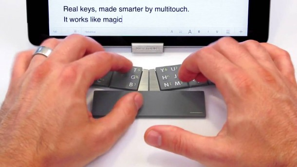 The TextBlade – Eight Key QWERTY Keyboard 6