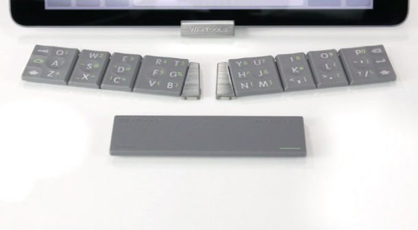 The TextBlade – Eight Key QWERTY Keyboard 7