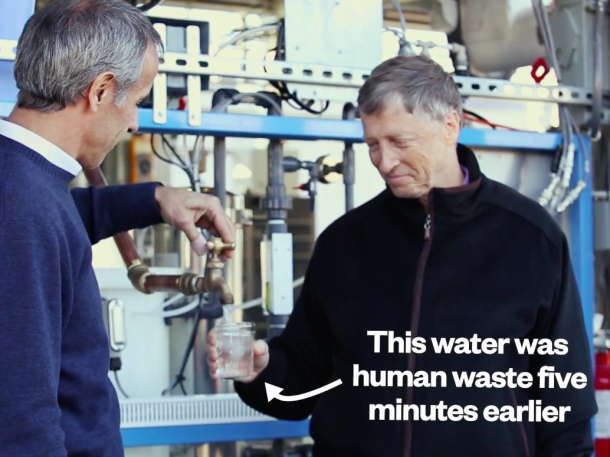 This Machine Can Transform Poop into Water – Bill Gates Vouches3
