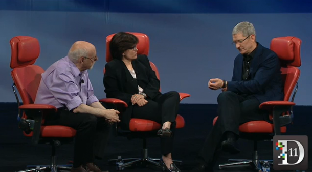 Tim Cook Talks about Apple iwatch