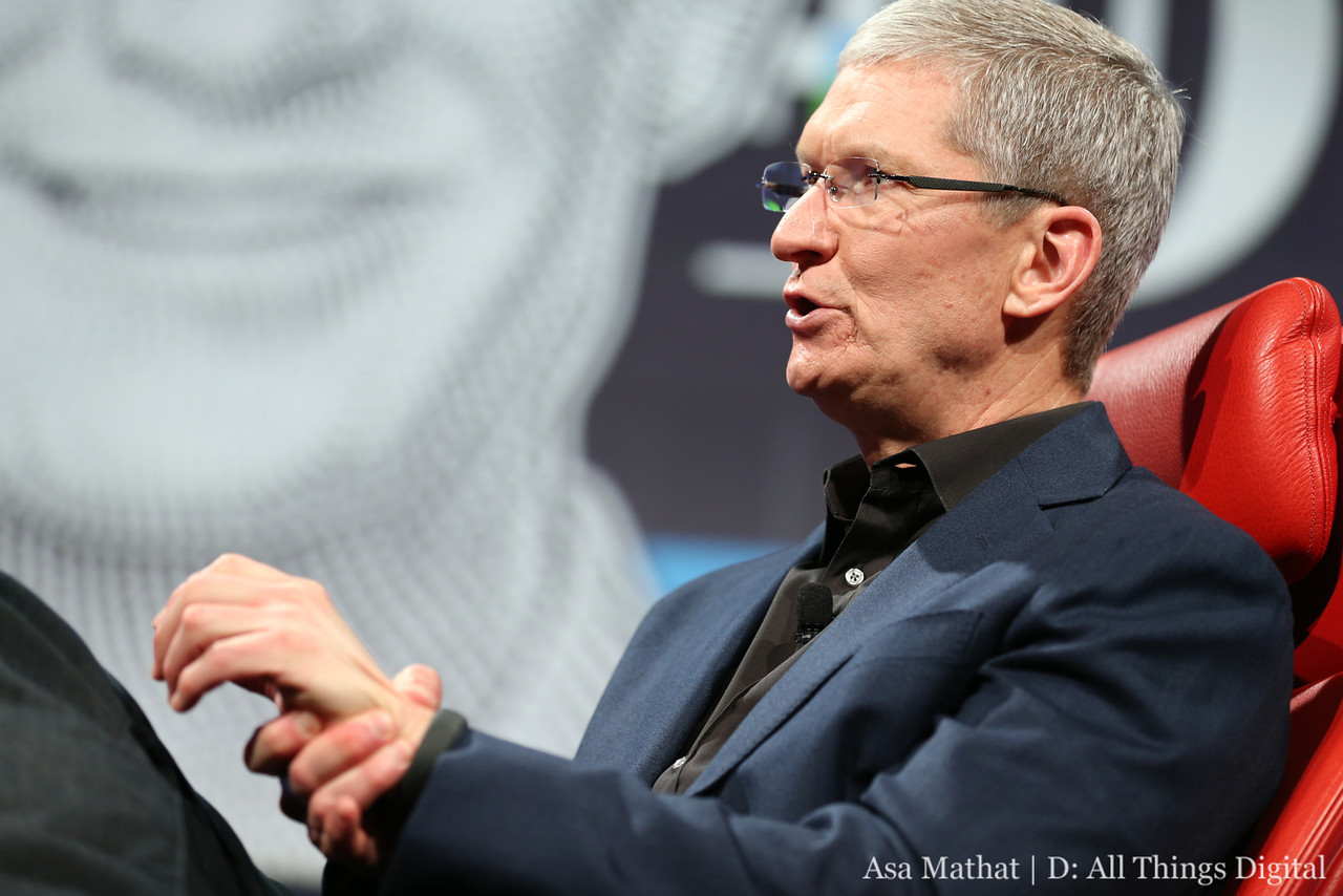 Tim Cook Talks about Apple iwatch5