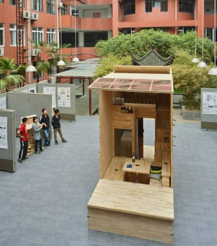 Chinese students design the most spacious tiny house ever for Best small house plans ever