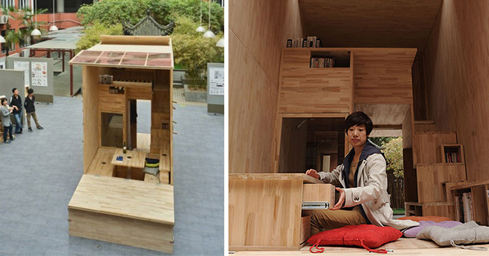 Tiny home by chinese students