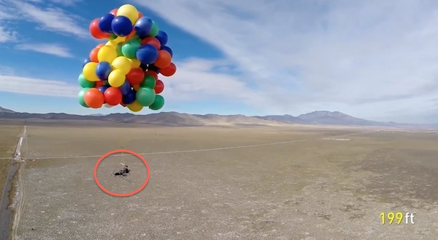 Up – Using Balloons to Get Afloat in Air6