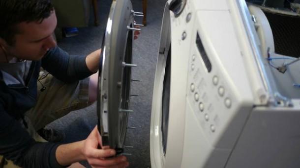 Washing Machine Transformation into a Fish Tank6a