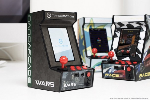 World's Smallest Arcade Game System - Nanoarcade