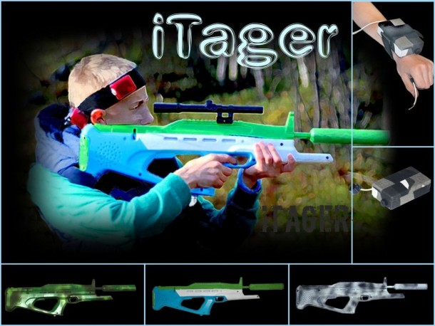 iTager will Allow for Mega Level Laser Tag Matches