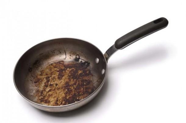 Dirty Frying Pan