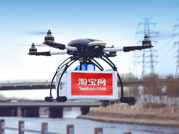 Alibaba Delivery Drone Trial Tests2