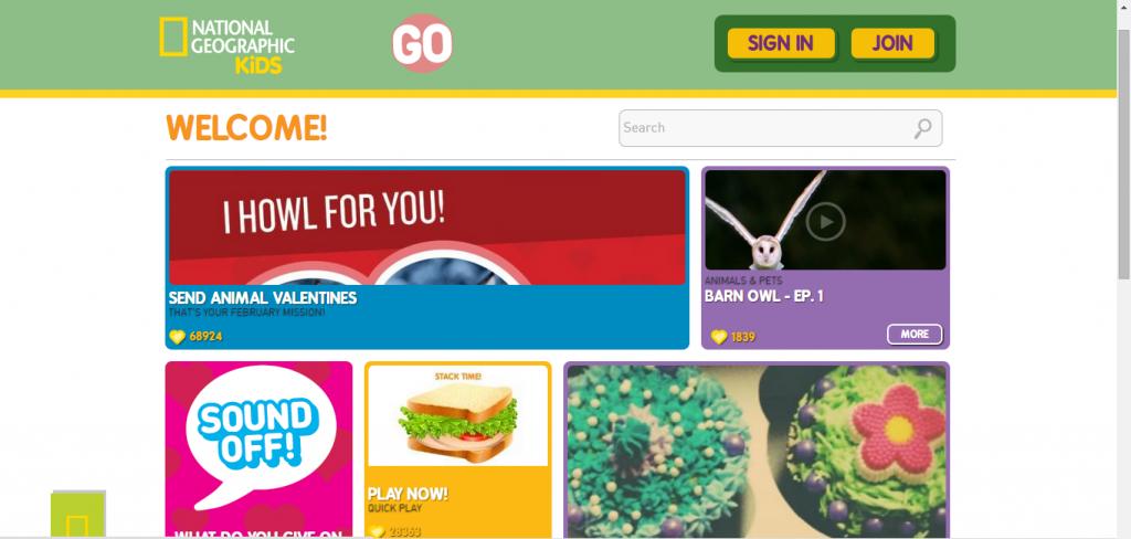 Best kids Website-5