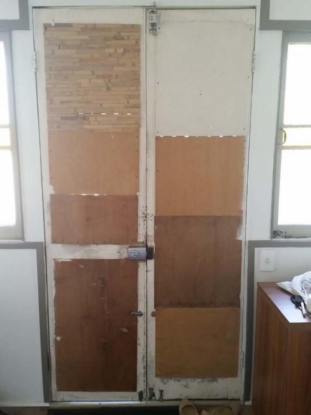 DIY Front Door is Amazing