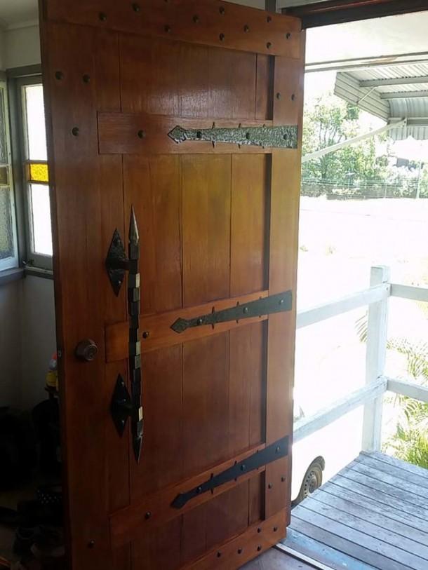 DIY Front Door is Amazing11