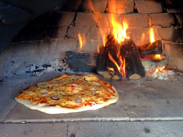 DIY Oven for Pizza 12