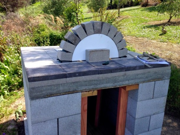 DIY Oven for Pizza 7