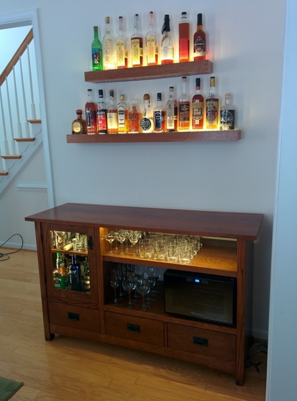 DIY Transformation of TV Cabinet into Something Cool11