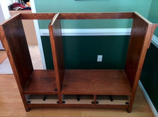 DIY Transformation of TV Cabinet into Something Cool3